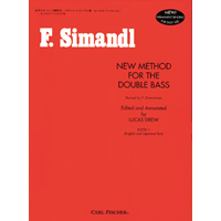 【教則本】シマンドル著 New Method for the Double Bass Book1