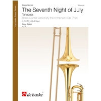 【輸入楽譜 金管5重奏】たなばた/The Seventh Night of July for Brass Quintet